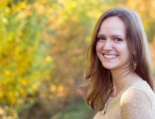 Portrait Herbst stimmungsvoll