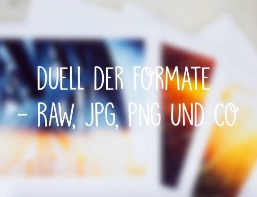 Duell der Formate Fotografie