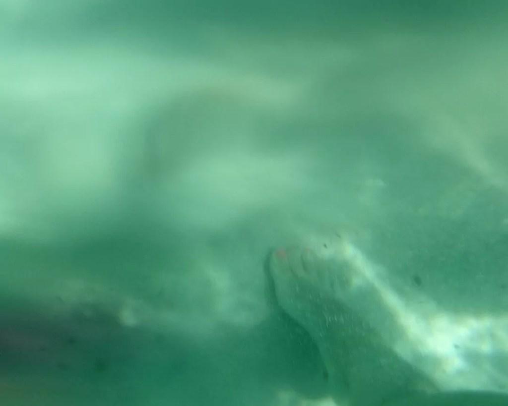 Wasserfeste Hülle Smartphone MPOW im Meer