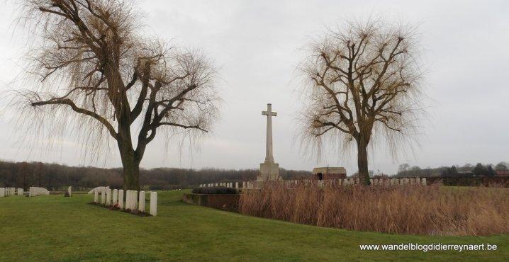 Miliaire begraafplaats Prowse Point in Ploegsteert