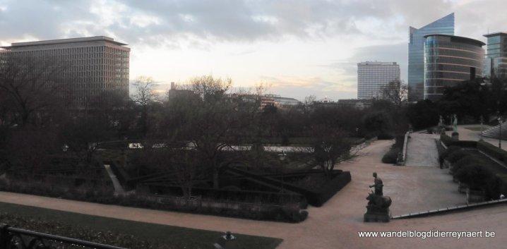 panorama vanaf de Kruidtuin