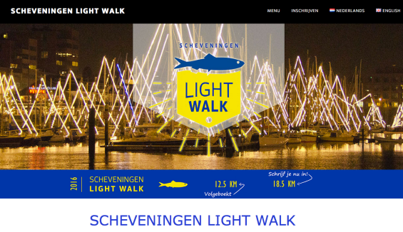 Scheveningen Light walk