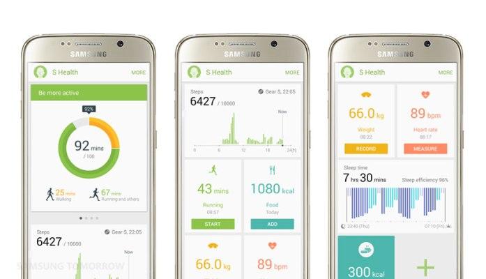 de S Health app