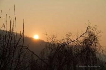 Sonnenaufgang in Manderscheid