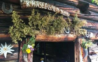Eingang zur Karseggalm