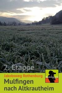 Jakobsweg Rothenburg 2. Etappe