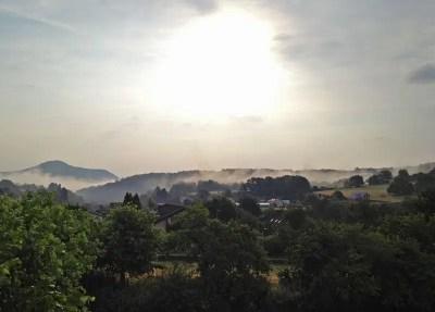 Sonnenaufgang in Rumbach