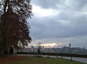 Sonnenaufgang über Rothenburg