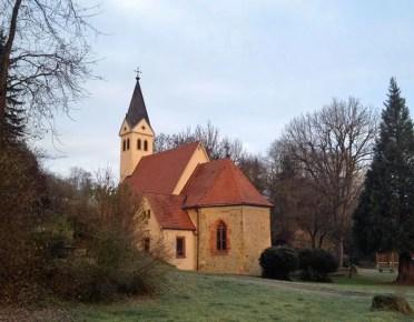 St. Annakapelle in der Morgensonne