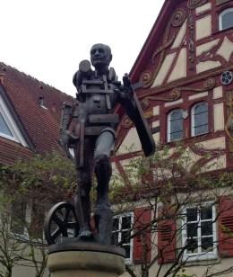 Götz-Statue in Jagsthausen
