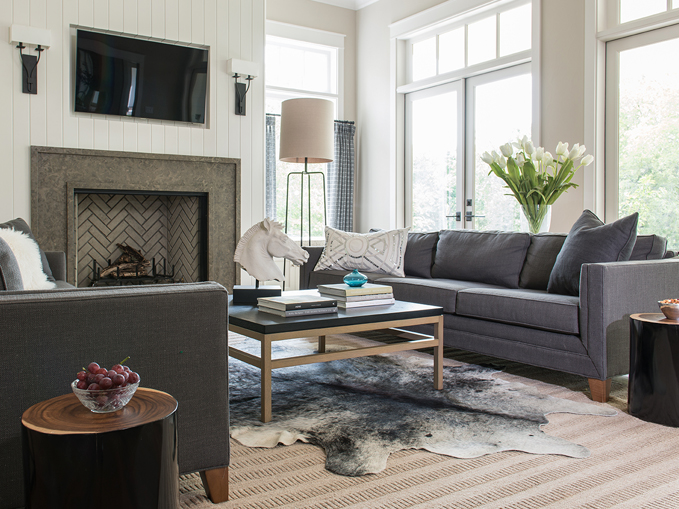 vertical-shiplap-fireplace-flat-panel-tv-niche-gray-herringbone-firebox
