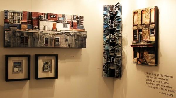 Stories Of Buildings Thoughtful 3d Pieces Heather Kocsis Wanderarti
