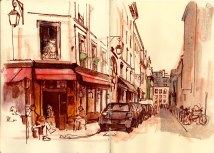 Awesome Artistic Representations Of Paris City