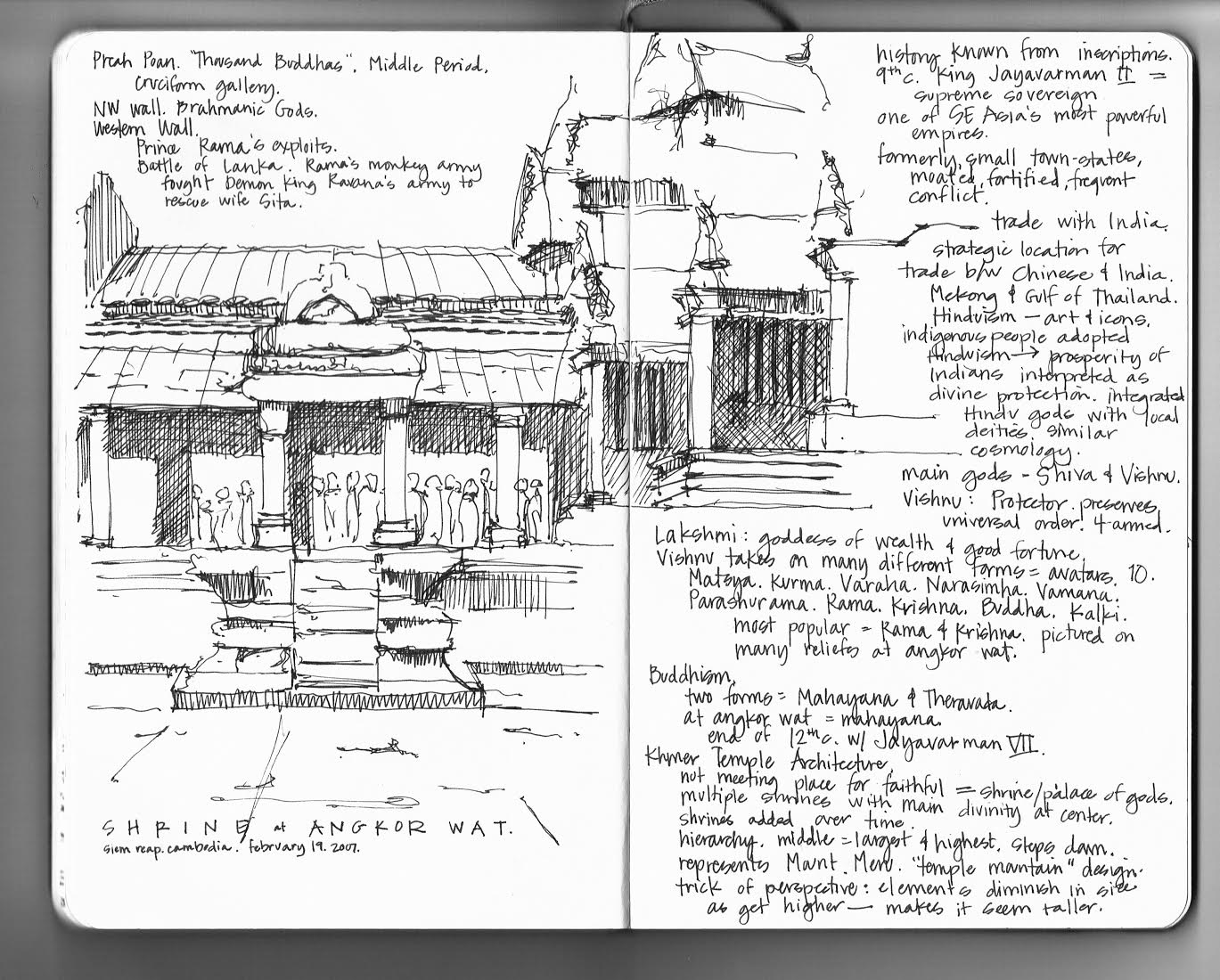 Around the World in Black and White Pen and Ink Travel Sketches by Naomi Leeman  Wanderarti