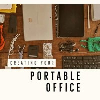 How to Build a Portable Office for Travel & Digital Nomad Remote Work