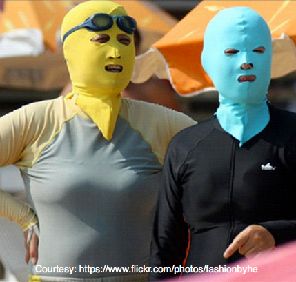 China's latest beach trend. Attraction or Repulsion?