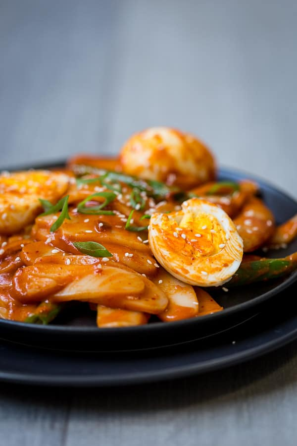 Tteokbokki Recipe  Korean Spicy Rice Cake Stir Fry