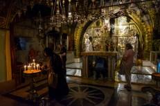 Capilla en el interior del Santo Sepulcro, Jerusalén