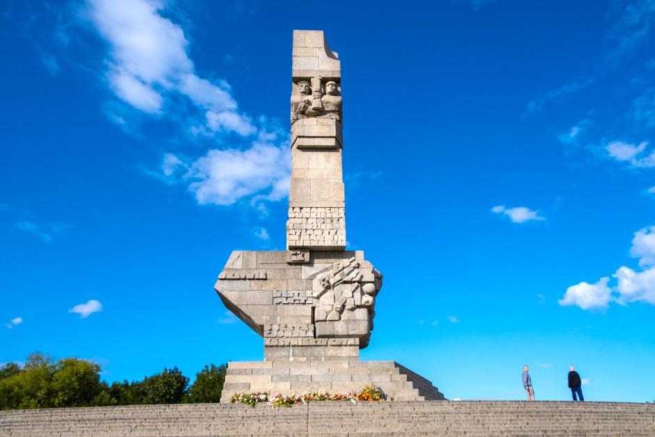Monumento península de Westerplatte
