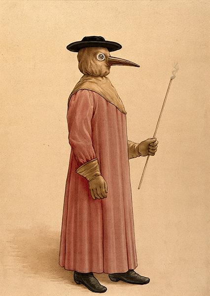 Médico peste