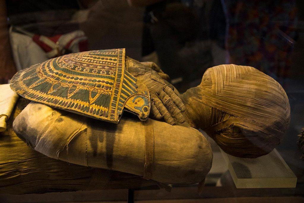Momia egipcia Louvre