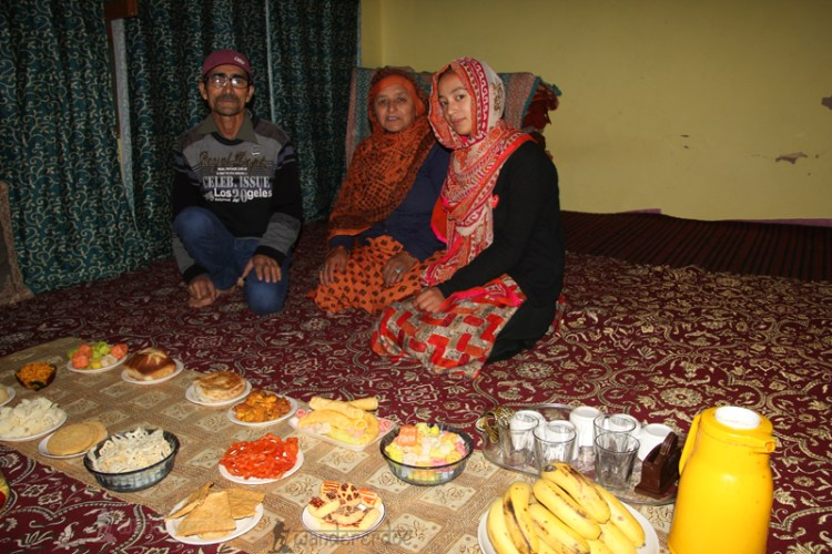 Mr. Haider and his family