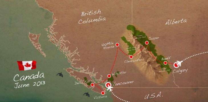 Hoe plan je een reis trektocht door Canada Rocky Mountains