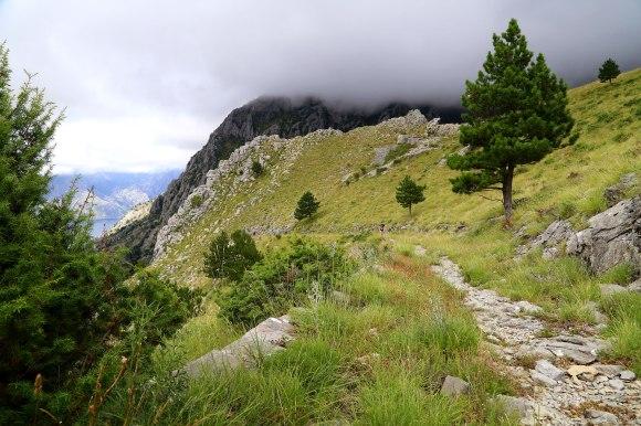 Reizen Montenegro - in de wolken