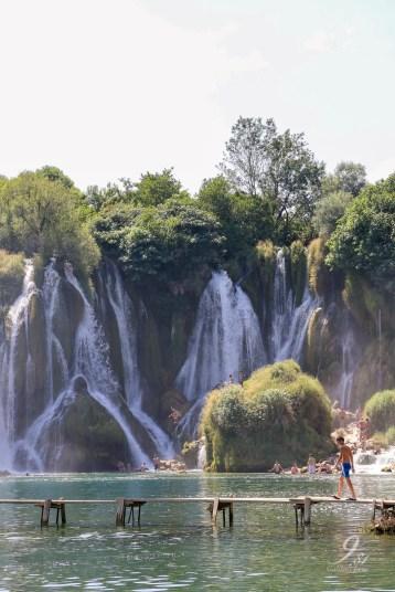 Bosnie - Mostar - Watervallen-7