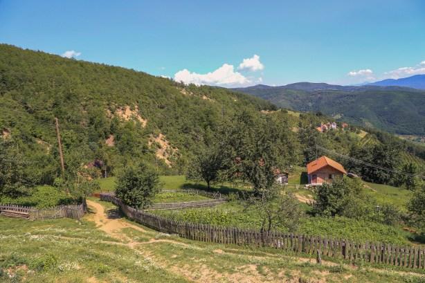 Bosnie - Foca - heuvels-7