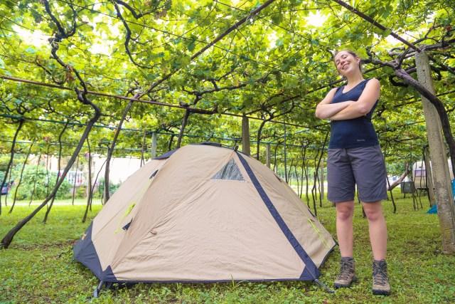 Reizen Montenegro - baai van kotor - camping