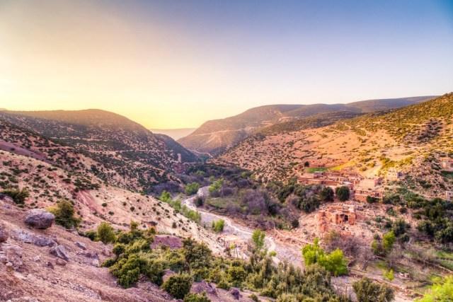 Marokko Atlasgebergte Imska