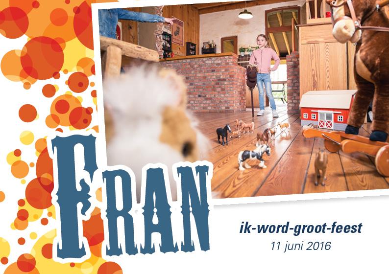 Fran Communiekaartje1