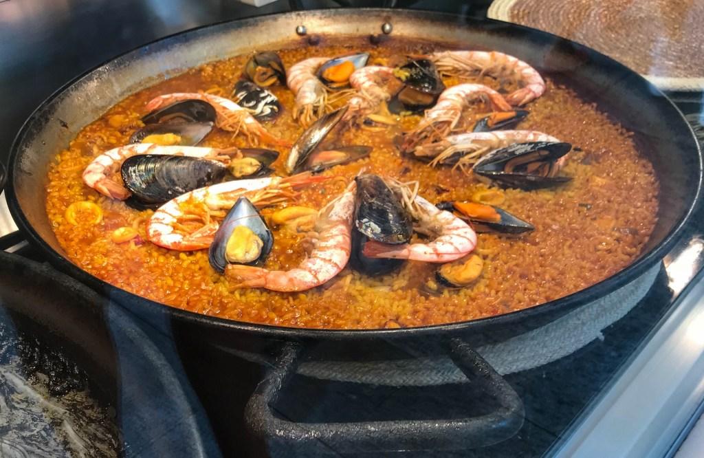 Madrid Dining Abroad Paella