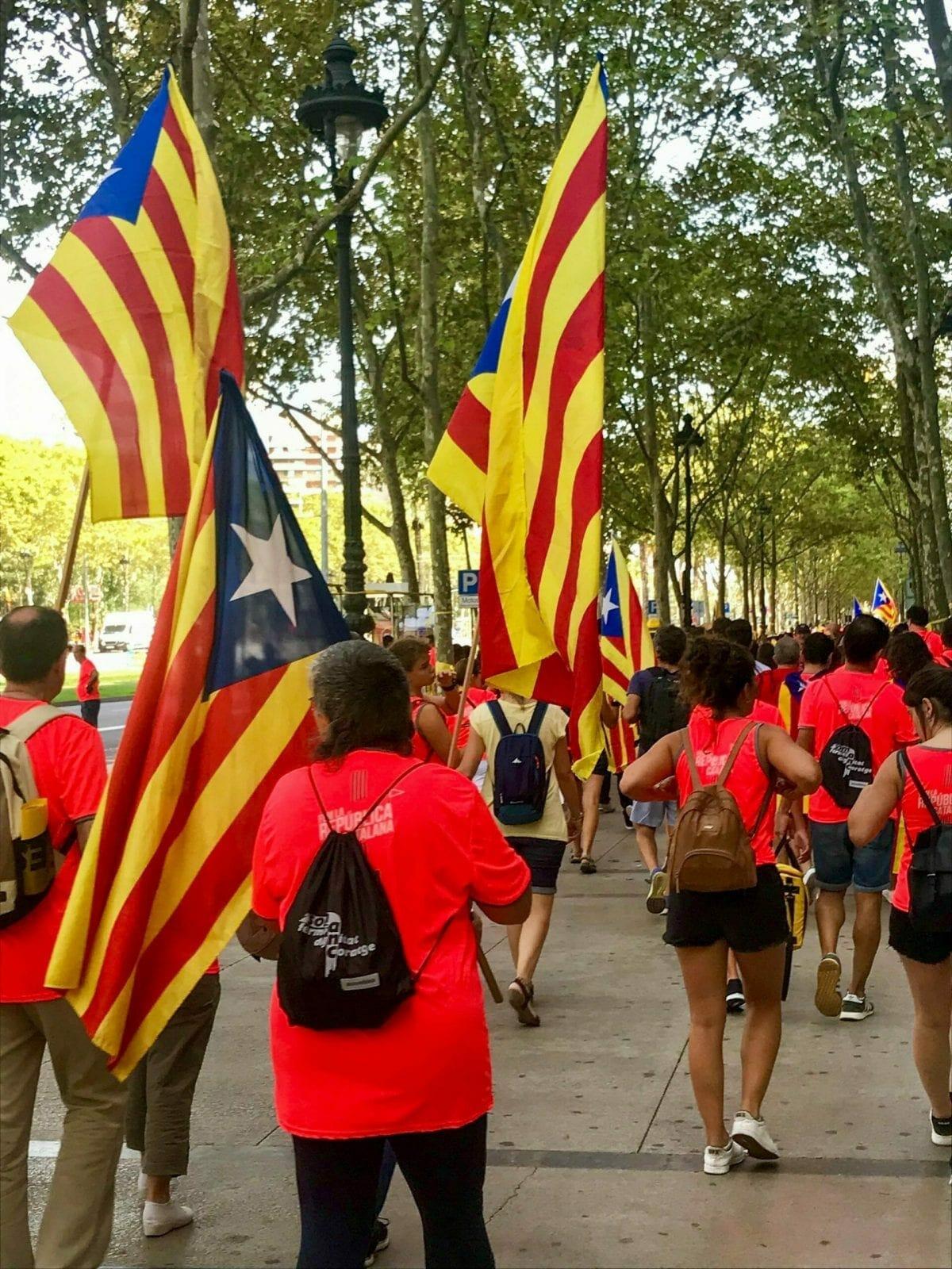 Barcelona Protest, Spain