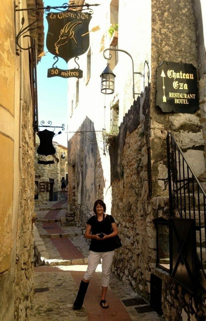 Joelle in Eze France