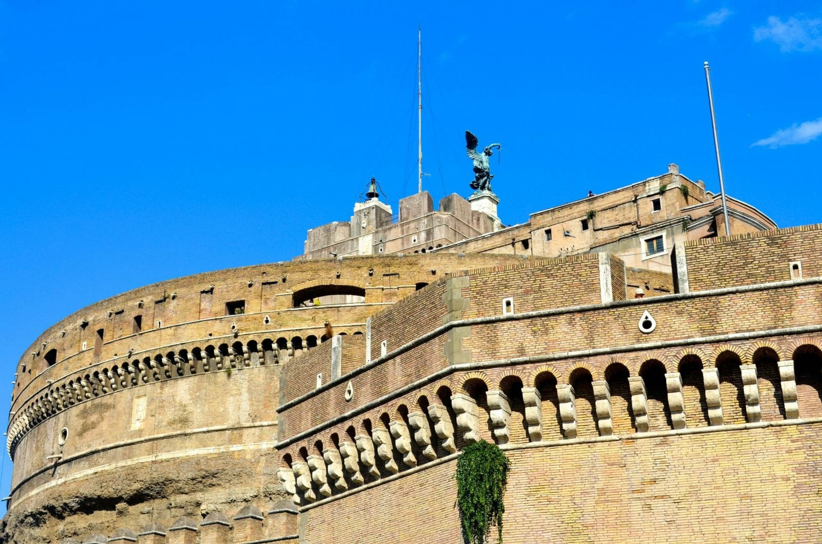 Angels Castle, Rome, Italy