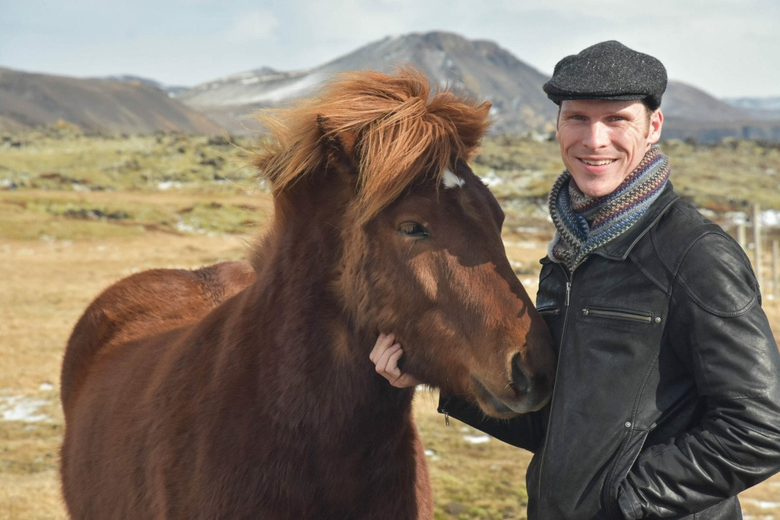 Ryan with Iceland Horses