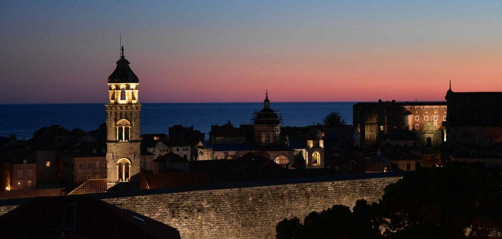 Evening Dubrovnik