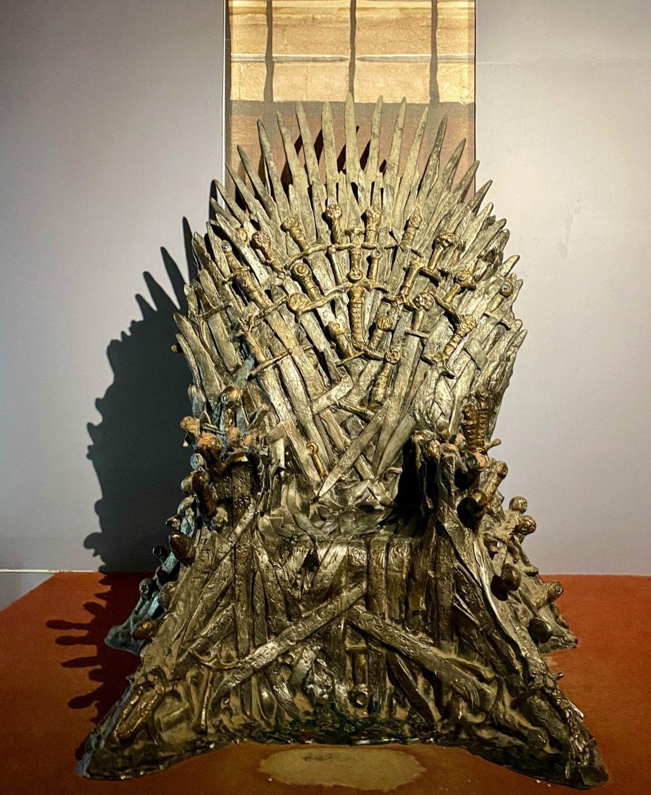 Game of Thrones Kings Chair Lokrum Island
