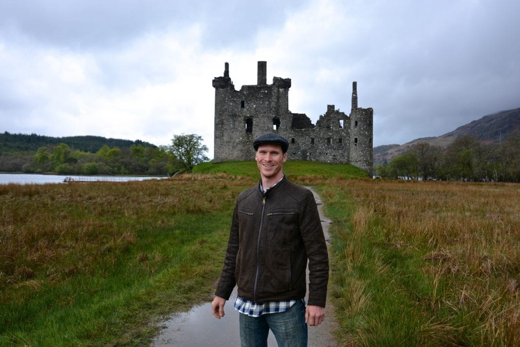 Ryan in Scotland