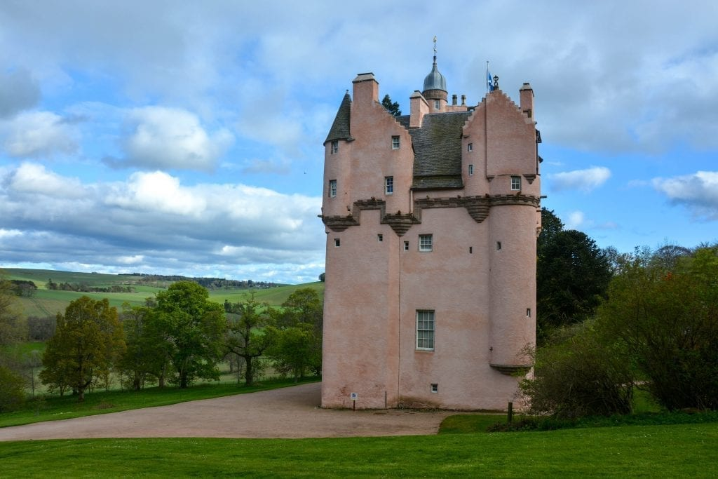 Craigievar Castle Scotland, AdventuresUK