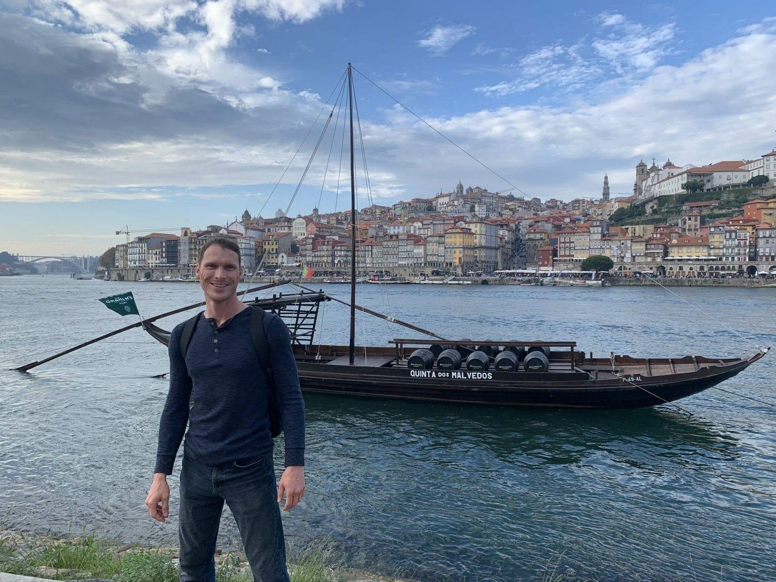Ryan in Porto