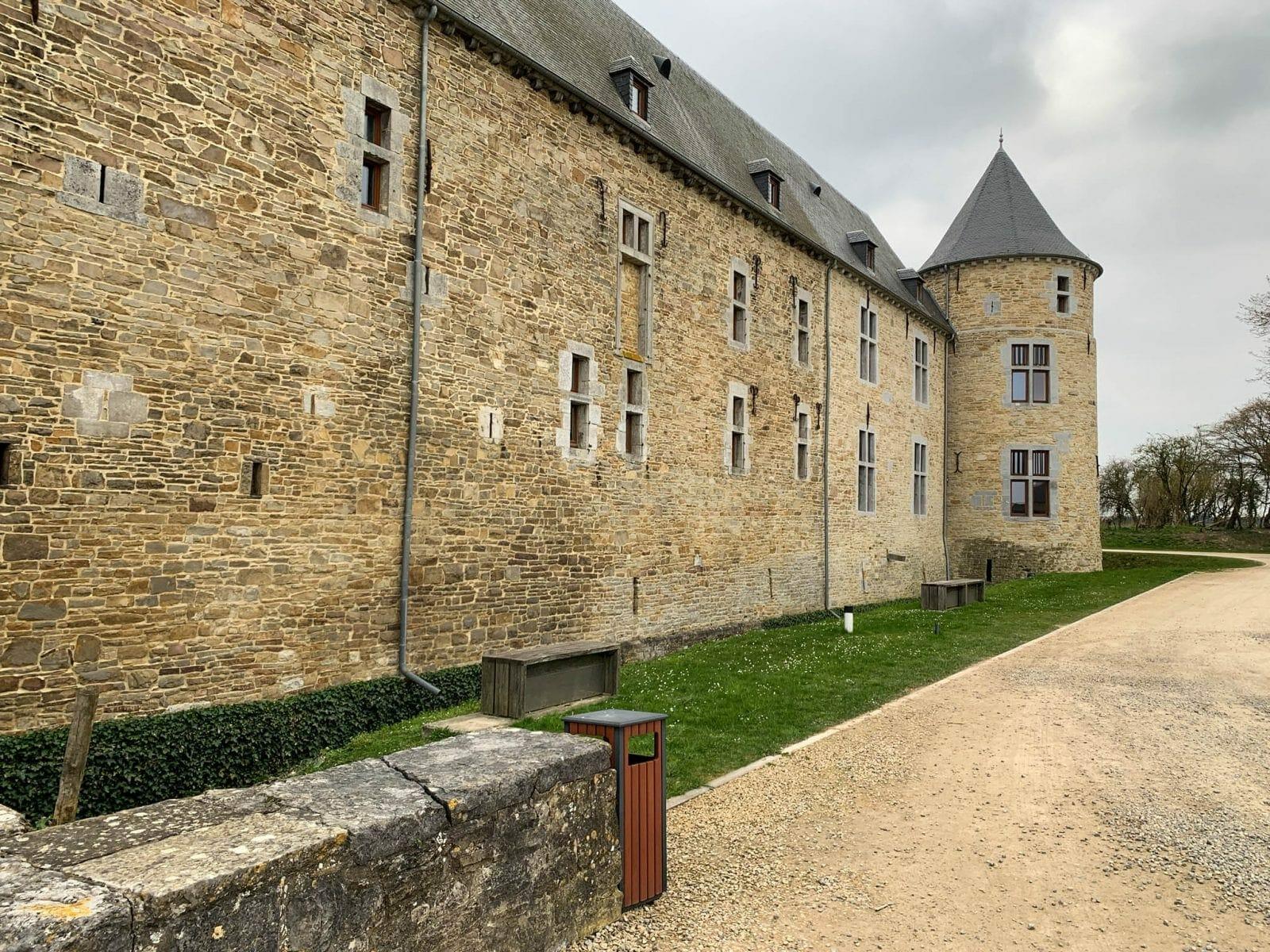 Castle Courriere., Belgium
