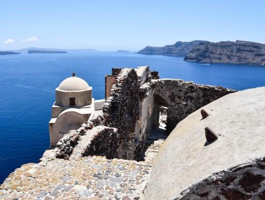 Oia Castle Santorini