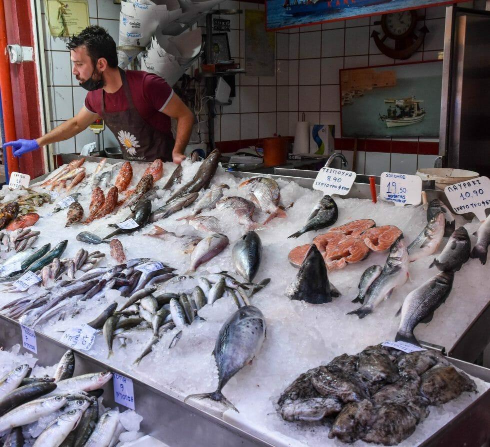Fish Market Heraklion