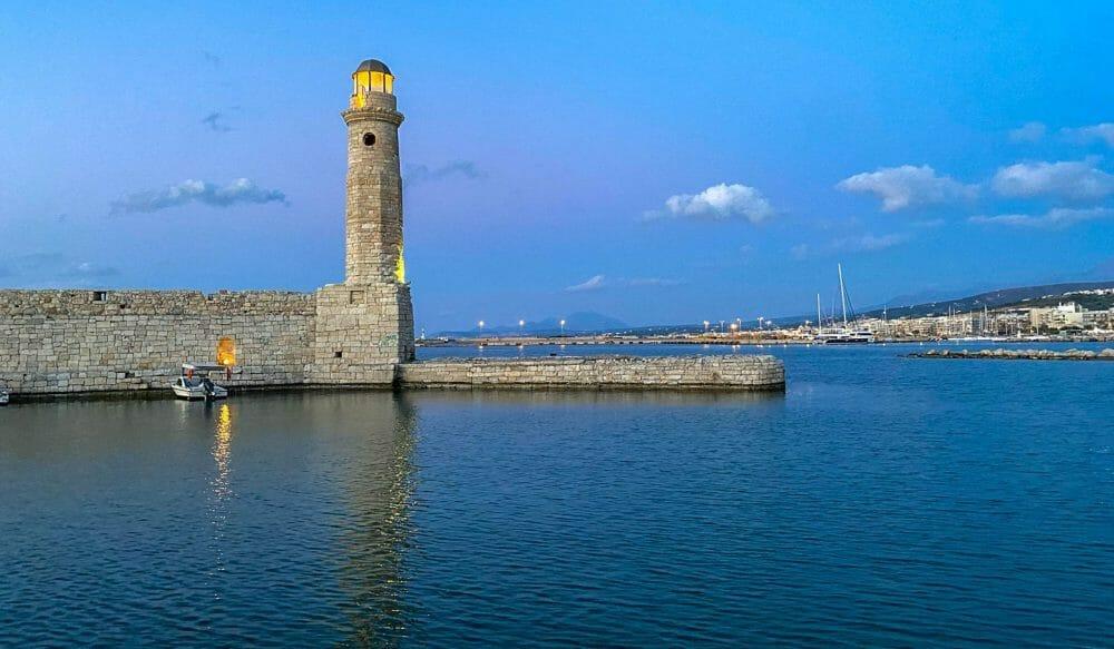 Rethymno Harbor, Crete