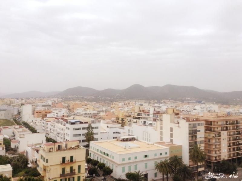 The tiny yet gorgeous Ibiza Town