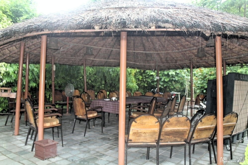 yard gazebo at Bharatpur
