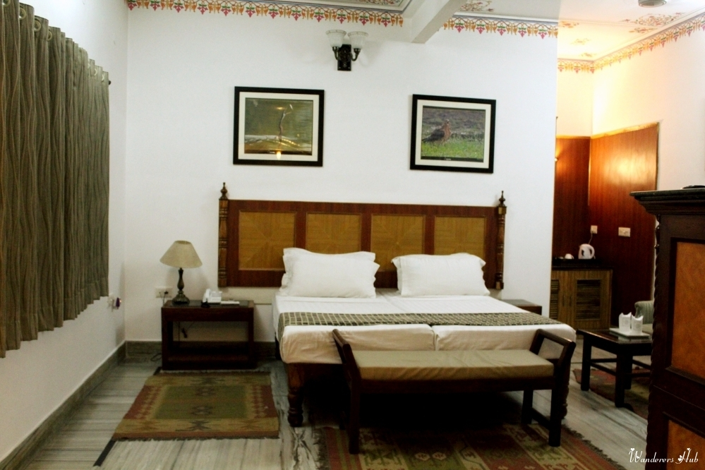 Deluxe room of The Sunbird hotel